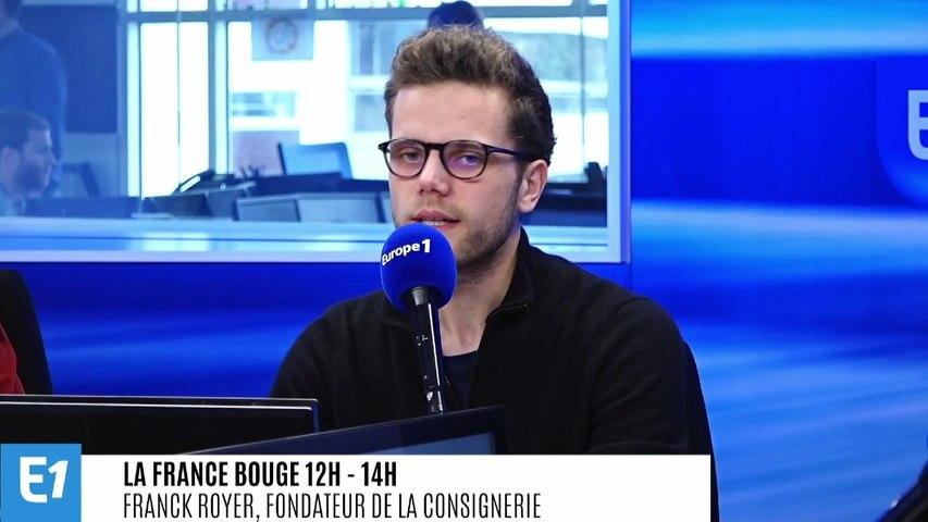 La France bouge : Franck Royer, fondateur La Consignerie, plateforme e-commerce regroupant une gamme de produits alimentaires liquides concoctés par des artisans locaux