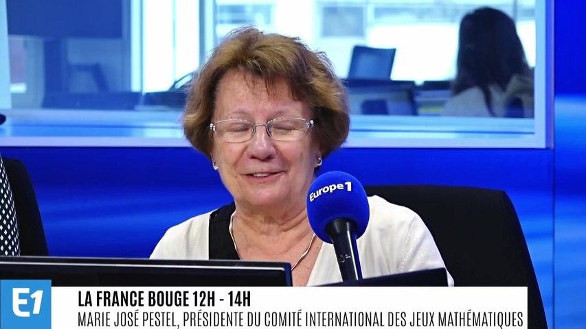 La France bouge : Marie José Pestel, Présidente du Comité International des Jeux Mathématiques, fédère des associations du monde entier qui organisent des compétitions de jeux mathématiques