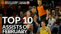 Turkish Airlines EuroLeague, Top 10 Assists of February!