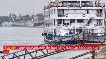 Égypte : une quarantaine de touristes français bloqués sur un bateau