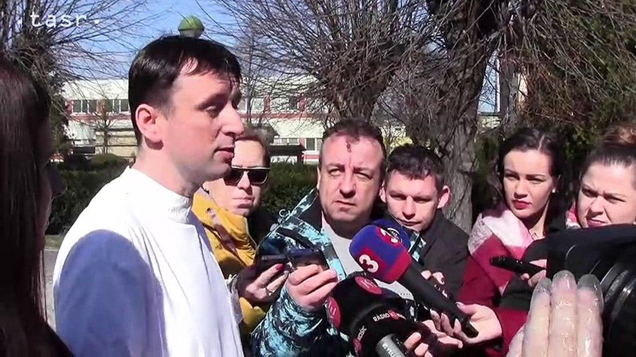 KORONAVÍRUS: Košice: Primár M. Novotný: Pacient s koronavírusom je v stabilizovanom stave