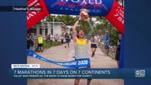 Seven marathons in seven days on seven continents