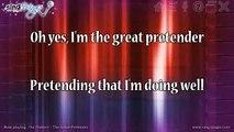 The Platters - The Great Pretender (karaoke version  instrumental) Karaoke Version Instrumental
