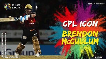 BRENDON McCULLUM | CPL ICON | #CPLIcon #CPL20 #CricketPlayedLouder
