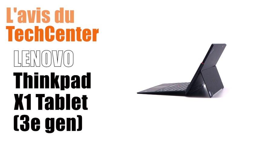 En direct du TechCenter Céleris, le nouveau LENOVO ThinkPad X1 TABLET GEN3