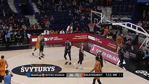 Rytas Vilnius 83 - 75 Galatasaray Doğa Sigorta | Maç Özeti - EuroCup Top 16 - 6. Hafta