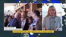 """Présidentielle américaine : Biden revient dans la course lors du """"Super Tuesday"""""""