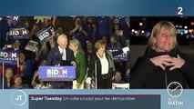 """""""Super Tuesday"""" : un vote crucial pour les démocrates"""