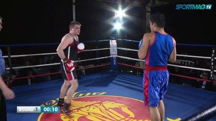 Gala de boxe de Cabourg : Baptiste Provost vs Hussain Sabir