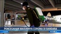 Sejumlah Bandara Semprot Disinfektan untuk Cegah Corona