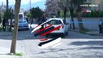 Polis memuru sokak ortasında dehşet saçtı! Kız arkadaşı ve annesine kurş