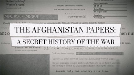 Afghanistan War Papers, Taliban Op-Ed, Doha Accord and Trump's Peace & Withdrawal