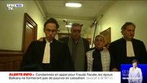 Condamnés à de la prison ferme, les époux Balkany ne vont pas se pouvoir en cassation
