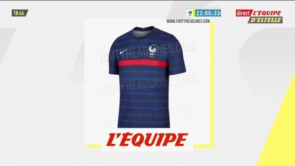 Les maillots des Bleus pour l'Euro 2020 auraient fuité - Foot - Bleus