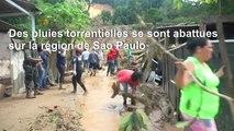 Brésil: les sauveteurs cherchent des survivants après un glissement de terrain ayant fait 19 morts