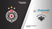 Partizan NIS Belgrade - Dolomiti Energia Trento  Highlights | 7DAYS EuroCup, T16 Round 6