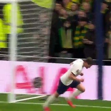 Tottenham 1-1 Norwich