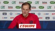 Tuchel « La réaction de Mbappé est formidable » - Foot - Coupe - PSG