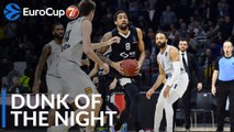 7DAYS EuroCup Dunk of the Night: James McAdoo, Partizan NIS Belgrade