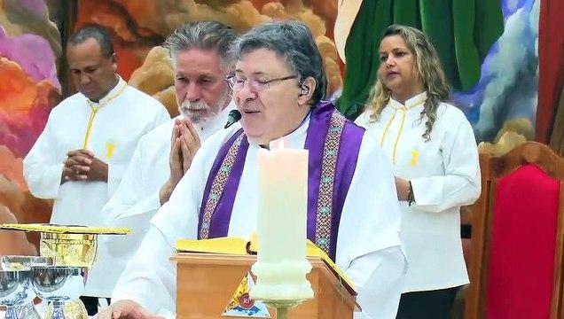 Oração Pe. Moacir Anastácio pelo professor agredido na parada de ônibus no Pistão Sul Taguatinga