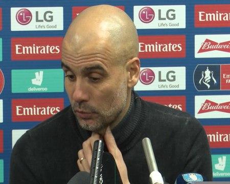 """City - Guardiola : """"Aller gagner à Old Trafford"""""""