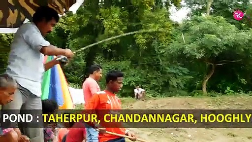 Fishing at Taherpur Full Muddy Pond | Rozina's Club