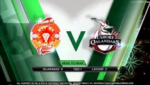 Islamabad United vs Lahore Qalandars Full Match Highlights Match 17 | 4 March 2020 | HBL PSL 2020