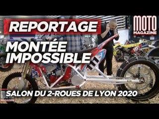 Tout savoir sur la montée impossible - Salon de la moto de Lyon 2020