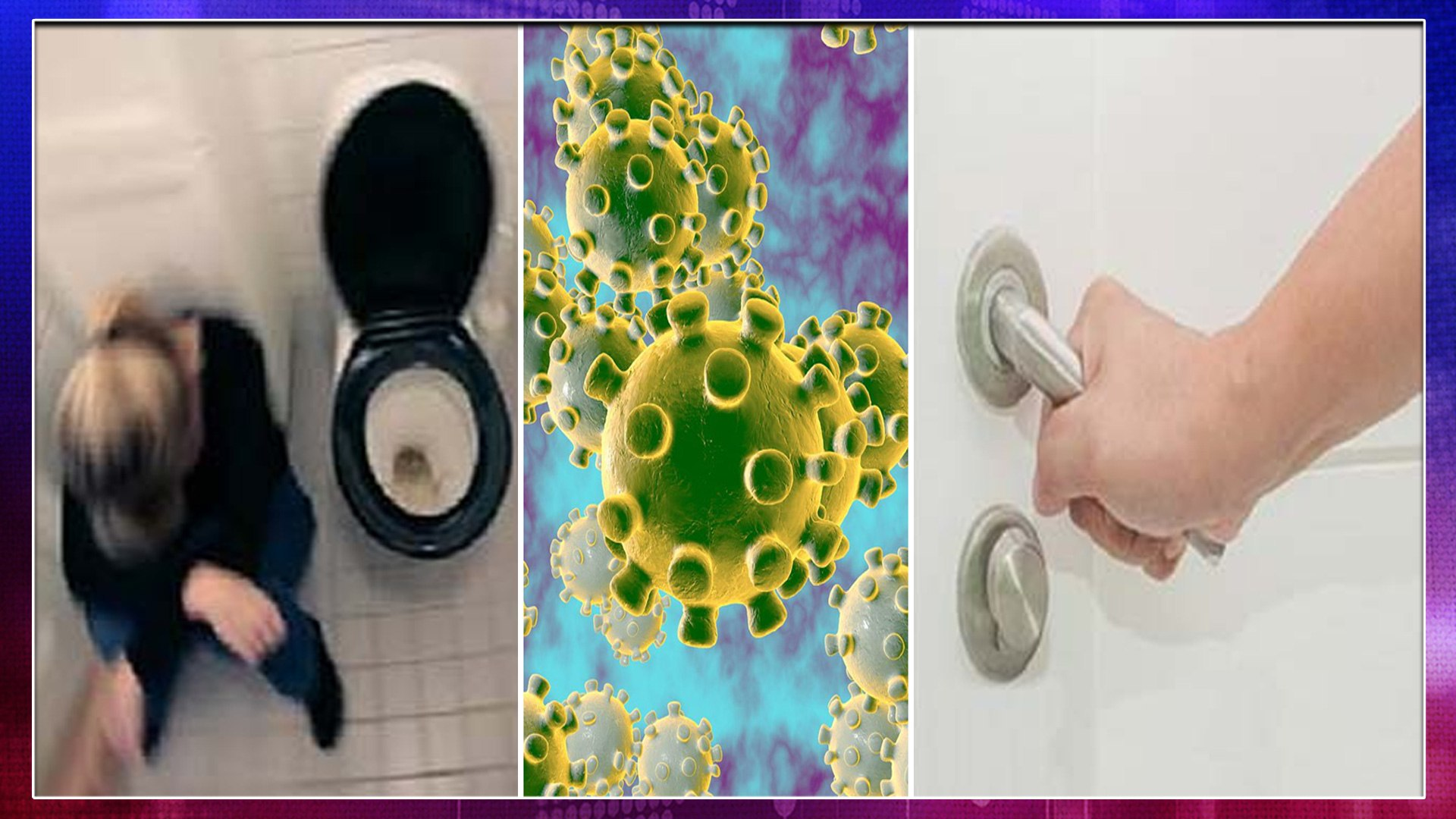 Coronavirus : Man Locks Wife In Bathroom Over Coronavirus Fears