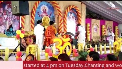 World record feast at Pitreshwar Hanuman Dham