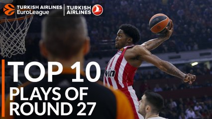 Regular Season Round 27 Top 10 Plays