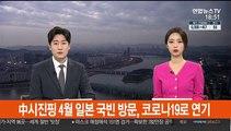 中시진핑 4월 일본 국빈 방문, 코로나19로 연기