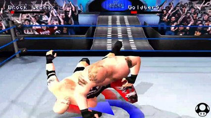 WWE Smackdown 2 - Brock Lesnar season #4