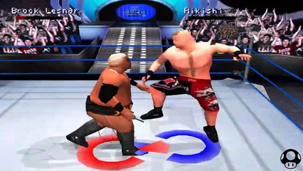 WWE Smackdown 2 - Brock Lesnar season #6