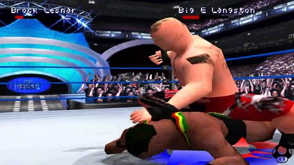 WWE Smackdown 2 - Brock Lesnar season #7