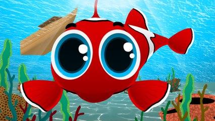 Kırmızı Balık - 53 Dakika Kesintisiz Çocuk Şarkıları