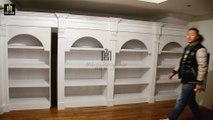 PY-003 Bookcase Parallel Moving Hidden Door--PY-003 书柜平移密室门--隠しドア--Palace Concealed Compartment 宫暗格