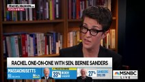 Sanders Blames Failure To Grow Black Support On Biden Association With Obama  Rachel Maddow  MSNBC