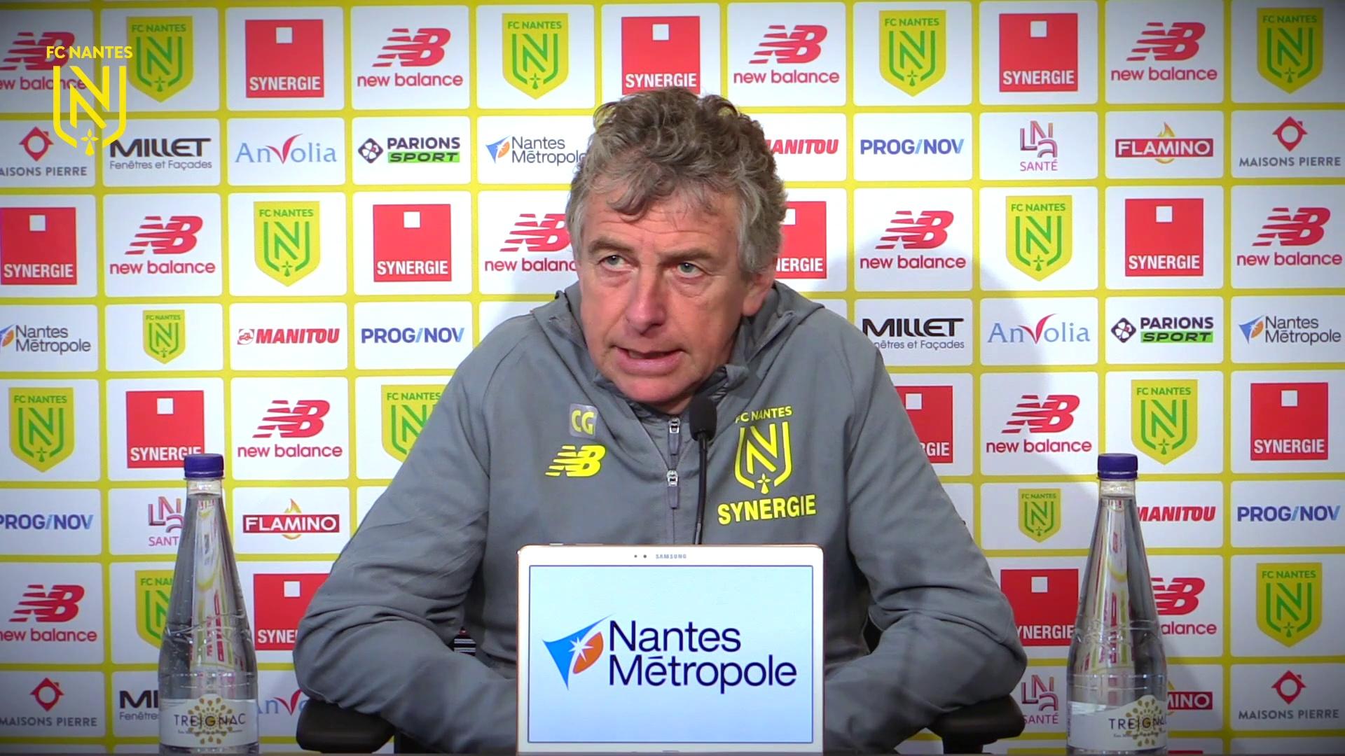 Christian Gourcuff avant Angers SCO - FC Nantes