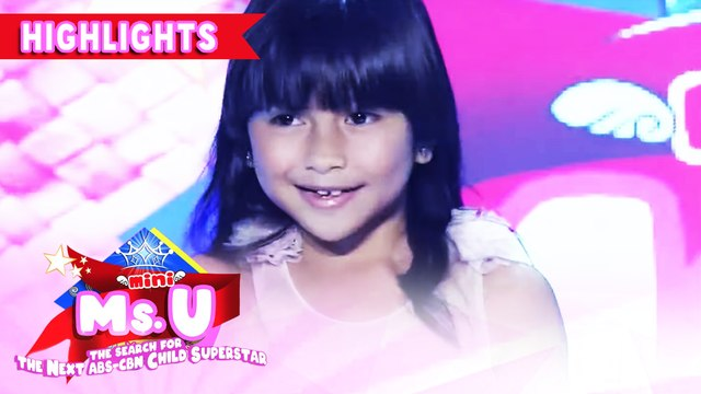 Rich Cabasag wins as Mini Miss U of the day! | It's Showtime Mini Miss U