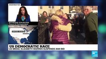 US Democratic race: Elizabeth Warren suspends 2020 bid according to US media