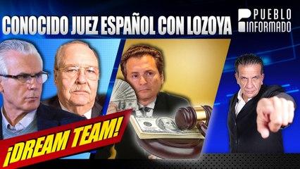 Lozoya refuerza su equipo de defensa con el conocido juez español Baltasar Garzón