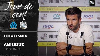 Conférence de presse d'avant Match,OM - ASC, Luka Elsner
