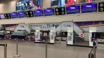 Stranded Travellers At Birmingham Airport Due To Flybe Collaspe!