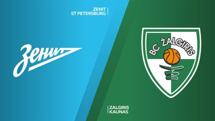 EuroLeague 2019-20 Highlights Regular Season Round 28 video: Zenit 76-75 Zalgiris