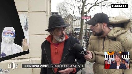 Le JT de la street de Hakim Jemili : le coronavirus et les retraites - Clique - CANAL+