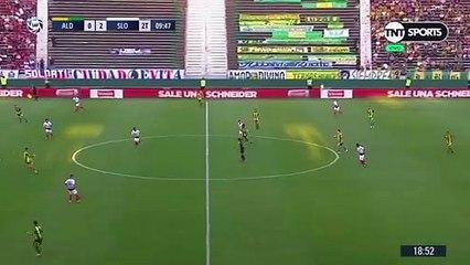 Facundo Bertoglio marcó el descuento para Aldosivi - TN.com.