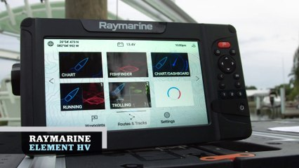 Marine Electronics Guide 2020 - Raymarine Element HV