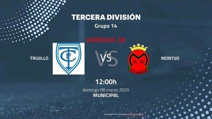 Previa partido entre Trujillo y Montijo Jornada 28 Tercera División
