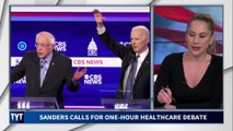 Bernie Challenges Biden To Debate